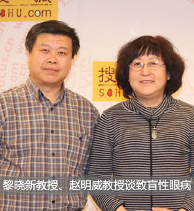 黎晓新、赵明威谈致盲性眼病
