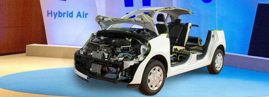 雪铁龙C3空气混动原型车