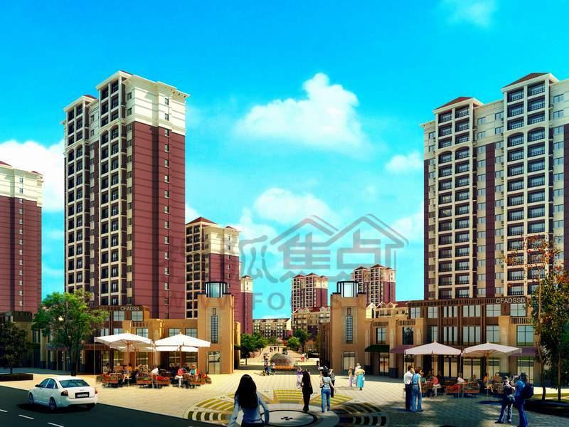 葫芦岛龙港区住宅街道图片