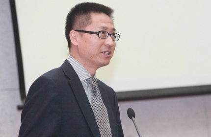 北京外国语大学校长助理、外语教学与研究出版社社长蔡剑峰