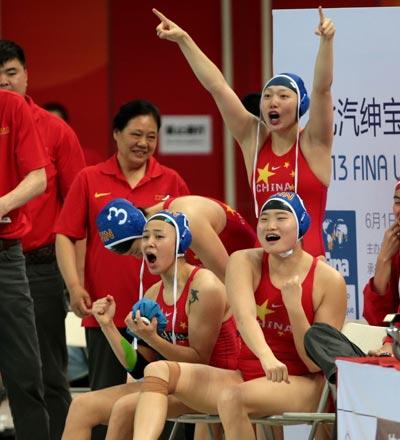 水球运动在中国算是绝对的冷门项目