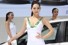 2013重庆国际车展美女车模