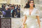 卡西女友白裙显高贵