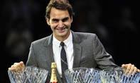 费德勒揽ATP年度三项大奖