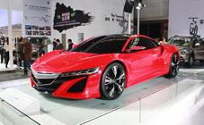 讴歌全新概念车型NSX Concept