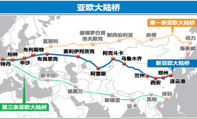 亚欧大陆桥经济走廊 - shufubisheng - 修心练身的博客