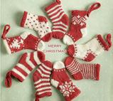 袜子也能堆出圣诞感