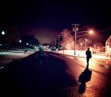 地点三:夜间公路