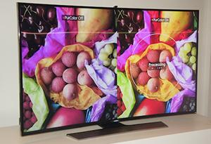 三星全球首款曲面UHD电视体验