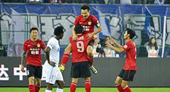 李玮锋染红郜林梅开二度 泰达2-5恒大