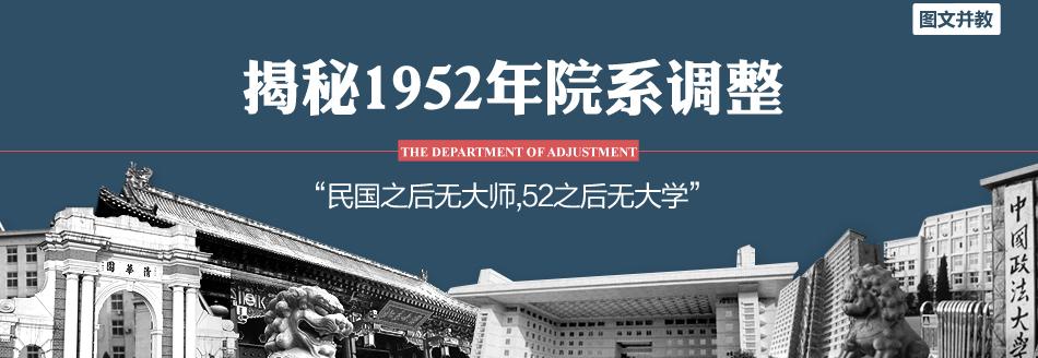 1952年院系调整
