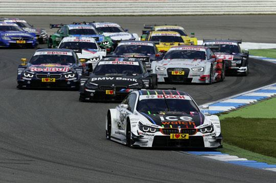 新赛车首夺桂冠 BMW在DTM揭幕战获得胜利
