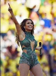 世界杯开幕式洛佩兹献唱