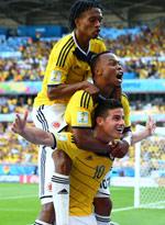 哥伦比亚3-0希腊