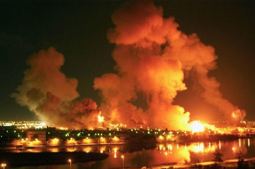 2003年3月21日美军空袭巴格达