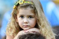 小组赛萌娃:巴西小天使
