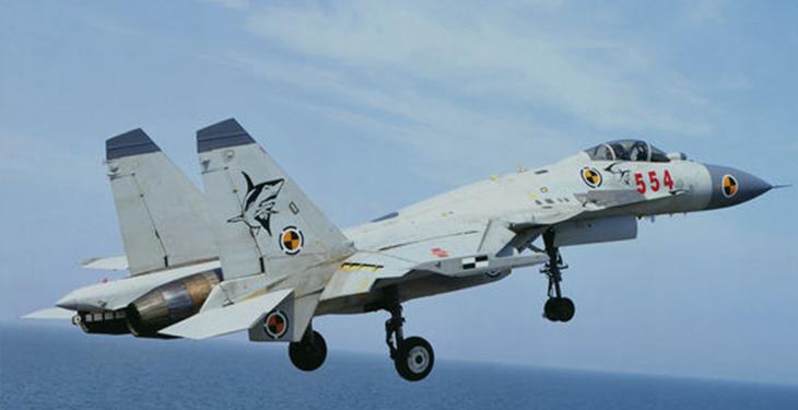 解放军歼-15战机