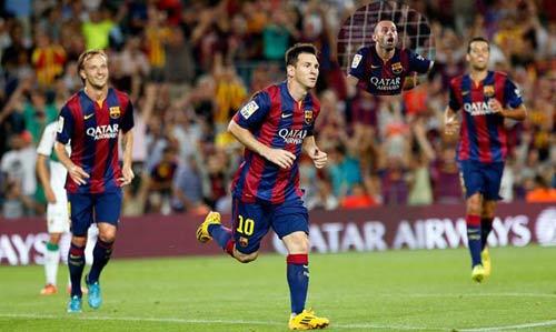 梅西攻入2球新帅:他是世界上最棒的球员