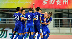 布鲁诺双响炮 阿尔滨2-0胜贵州