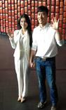 刘翔和新婚妻子