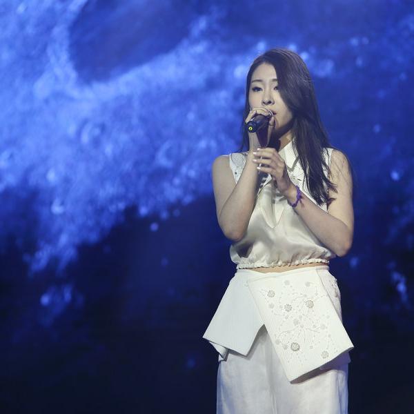 2014年《中国好声音》冠军张碧晨
