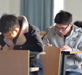 上海交通大学考点-考生考试中