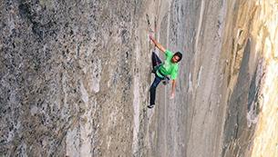 世纪之攀 美国自由攀岩勇士挑战绝壁