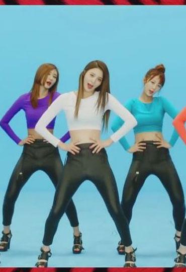 韩国女子组合exid金曲《上下》