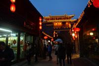 羊年初五看扬州东关街夜景