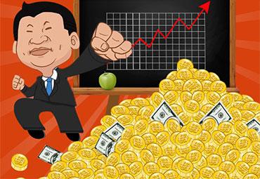 习近平释放巨大红利:图揭疯狂暴涨的行业