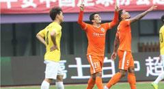野牛传射乌索破门 鲁能2-1送申鑫四连败