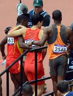 奥运最后的背影