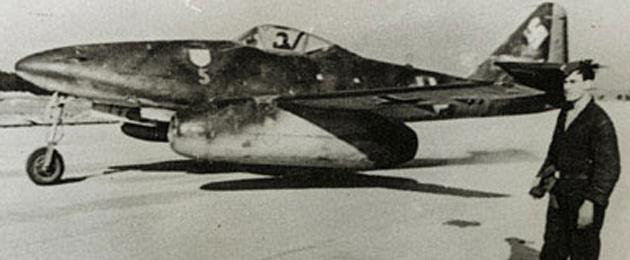 德国me262喷气式战斗机