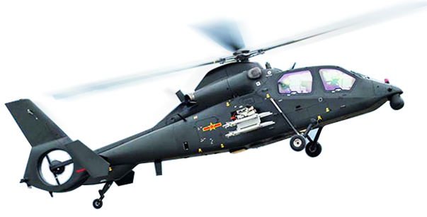 直-19是由中航工业哈尔滨飞机制造公司及602直升机研究