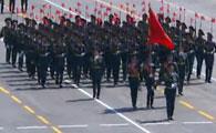 吉尔吉斯斯坦代表团方队