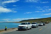 青海湖的环湖西路美景