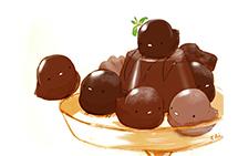 超萌的日本情人节巧克力