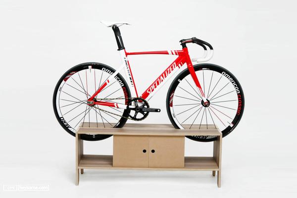把自行车放在家里是一件美好的事
