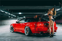 红色诱惑 邂逅Nissan180SX