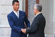葡萄牙总统为球队壮行
