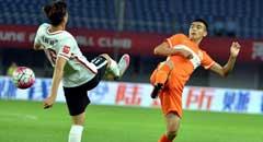 姜宁破门姆比亚送绝杀 华夏2-1鲁能