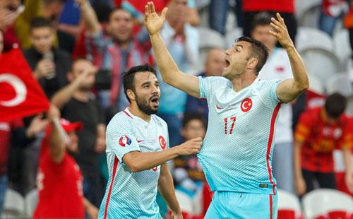 捷克0-2土耳其