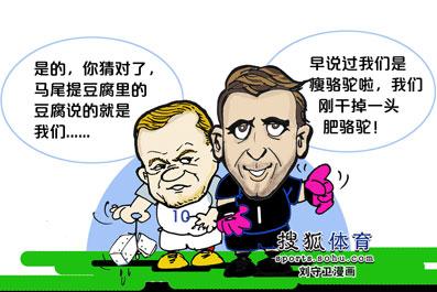 刘守卫漫画:豆腐英格兰溃败