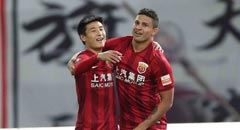 埃神武磊破门 上港3-1华夏获联赛季军