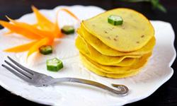 玉米面小松饼,十分钟搞定减肥美容早餐!