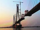 洞庭湖大桥主桥钢箱梁即将合龙