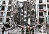 内蒙古包头一居民楼天然气管道爆炸