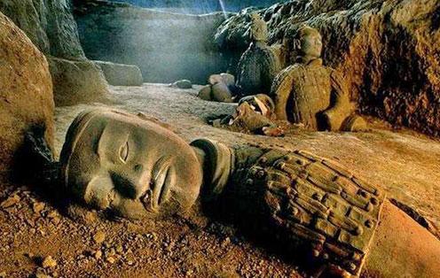 秦始皇祖坟里的传国秘宝