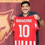 马拉多纳执教阿联酋球队