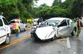 泰国旅游大巴发生严重事故